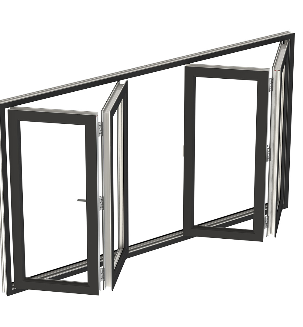 aluminium bi-folding windows southampton